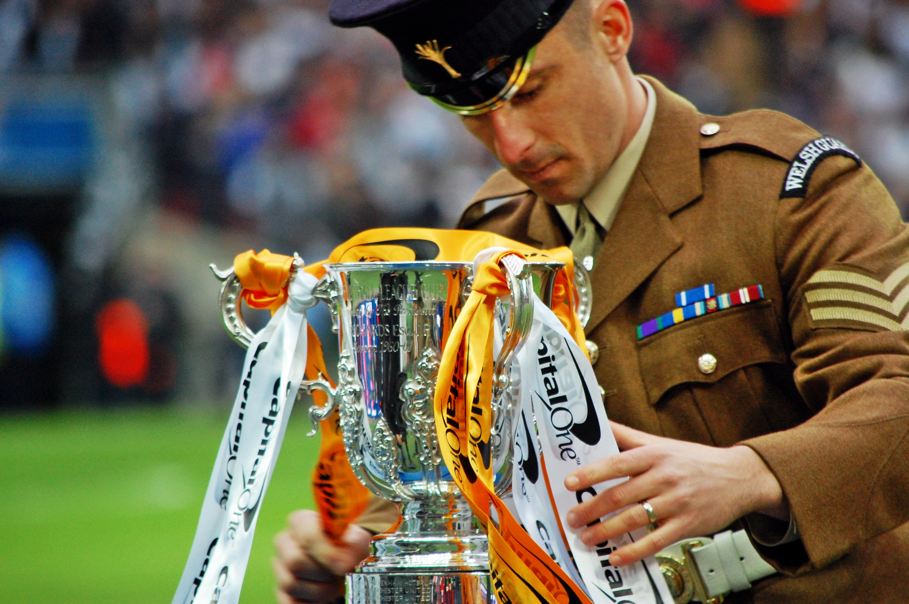 Welsh Guard Place Capital One Cup