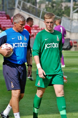 Lee Butler & Jordan Pickford