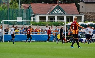Lewis Clarkson Score his & Bradford's  First goal