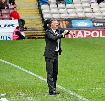 Darren Ferguson look for less Fergie time