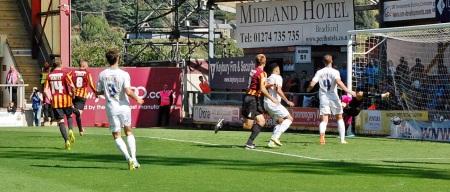 James Hanson Scores  First Goal