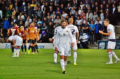 Luke Murphy (Leeds) Sent Off