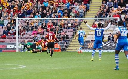 Peterborough's Kyle Vassell Scores 1