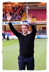 Phil Parkinson (Bradford Manager) 1