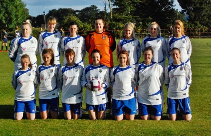 Skipton Ladies Team Photo 2014-15