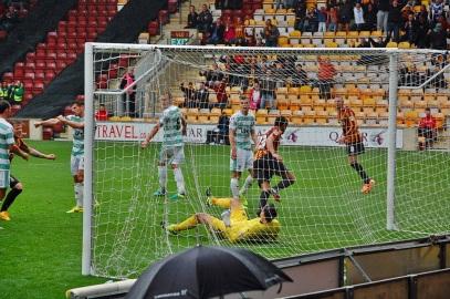 Rory McArdle Scores Bradford City Goal