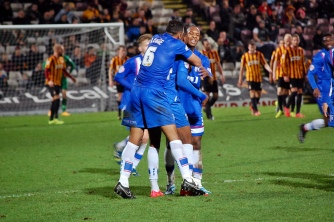 Gillingham Celebrate Goal 1