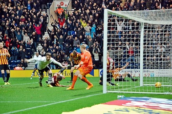 Joe Garner Scores For Preston
