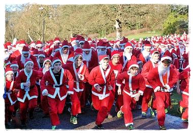 SKipton Santa's Start Race