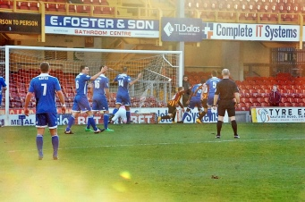 Billy Clarke Celebrates Goal