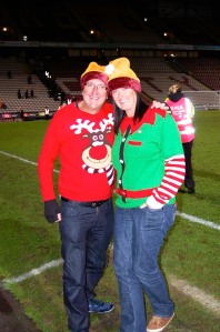 Bradford City Christmas Jumper World Record 2