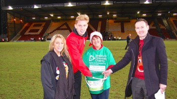 Bradford City Christmas Jumper World Record Season Ticket Draw