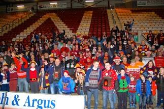 Bradford City Christmas Jumper World Record