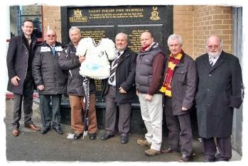 Dartford & Bradford Staff and Supporters
