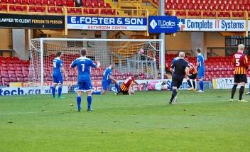 John Stead Scores Bradford's Second Goal