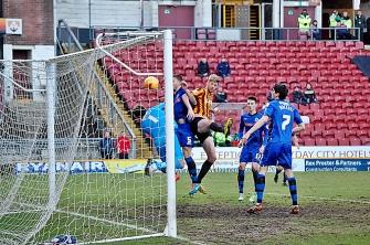 John Stead Scores Goal