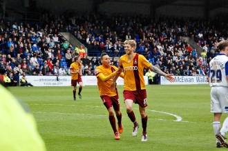 Jon Stead Celebrates Goal