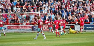 Accrington Stanley's Matt Crooks Scores First Goal