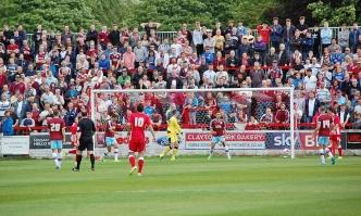 Accrington Stanley's McConville Scores Goal