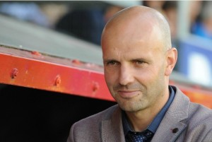 Paul Tisdale Of Exeter City - Photo mandatory by-line:Graeme Truby/Pinnacle - Tel: +44(0)1363 881025 - Mobile:07971 270681 - VAT Reg No: 768 6958 48 - 07/09/2013 - SPORT - FOOTBALL - SKY BET LEAGUE TWO - Dagenham & Redbridge v Exeter City, The London Borough of Barking & Dagenham Stadium, Dagenham, London, England