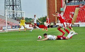 Josh Morris Looks For Penalty