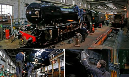 Flying Scotsman restoration